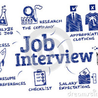 job-interview-chart-keywords-icons-41877886